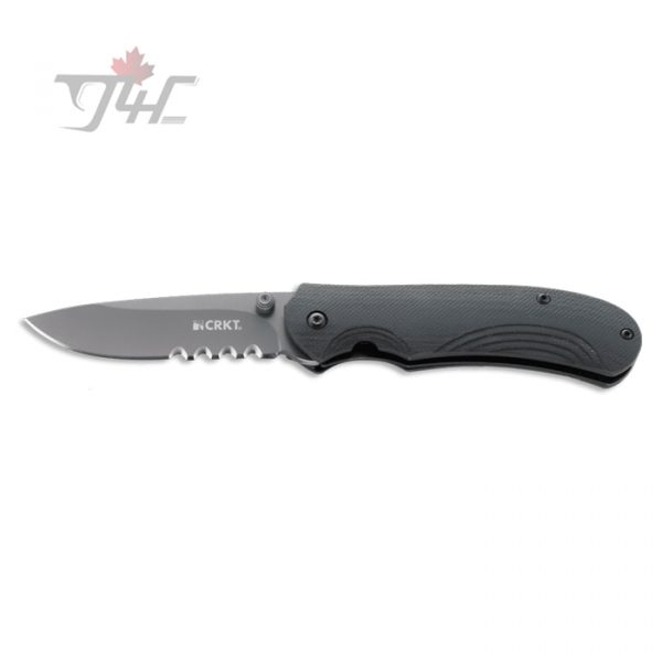 CRKT 6875 Incendor with Veff Flat Top Serrations