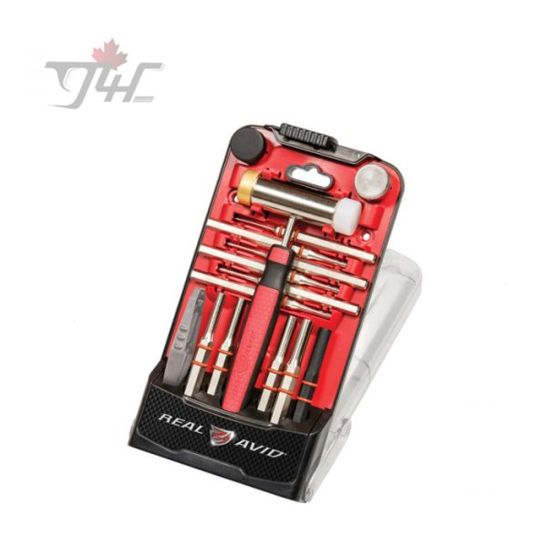 Real Avid Accu-Punch Hammer & AR15 Pin Punch Set