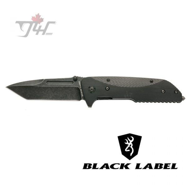 Browning Black Label Eradicate Folding Knife - Carbon Fiber
