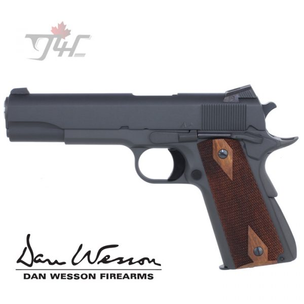 """Dan Wesson A2 Parkerized .45ACP 5"""" Parkerized Black"""