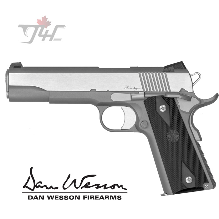 """Dan Wesson Heritage RZ-45 .45ACP 5"""" STS"""