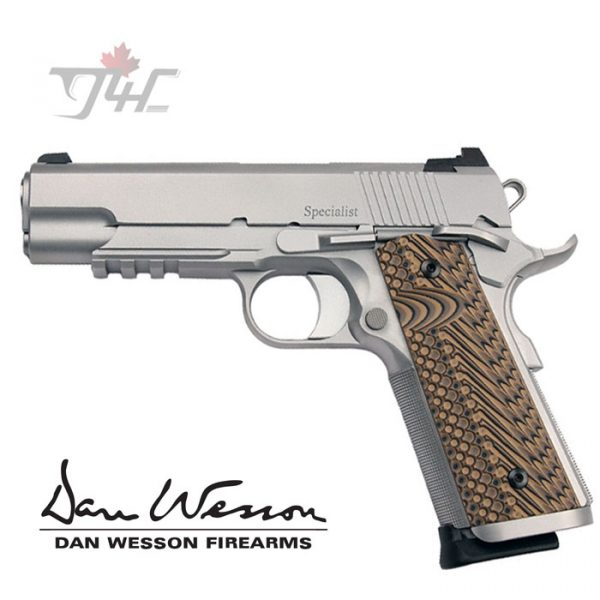 """Dan Wesson Specialist Commander .45ACP 4.25"""" STS"""