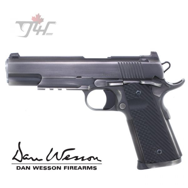"""Dan Wesson Specialist Distressed .45ACP 5"""" Forged Stainless"""