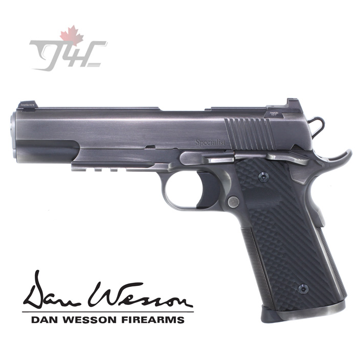 "Dan Wesson Specialist Distressed .45ACP 5"" Forged Stainless"