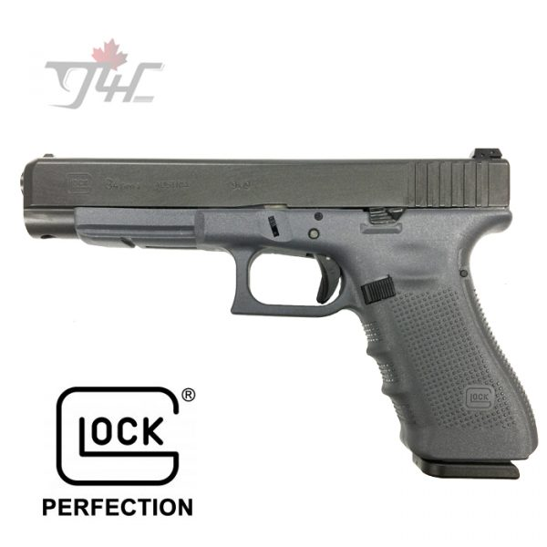 "Glock 34 Gen4 9mm 5.3"" BRL Sniper Grey"