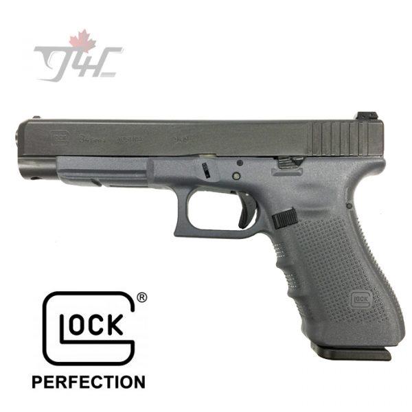 "Glock 34 Gen4 9mm 5.3"" BRL Sniper Grey"