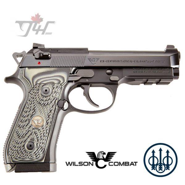 """Wilson Combat Beretta 92G Centurion Tactical 9mm 4.3"""" Black"""