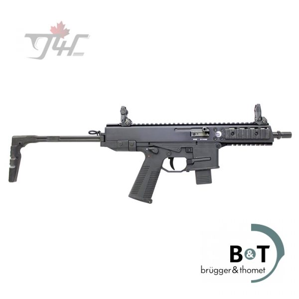 "B&T GHM9 SA Carbine 9mm 6.9"" BRL Black"