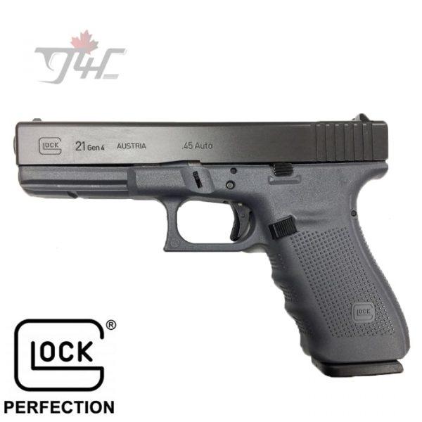 Glock-21-Gen4-.45ACP-4.5-inch-BRL-Grey