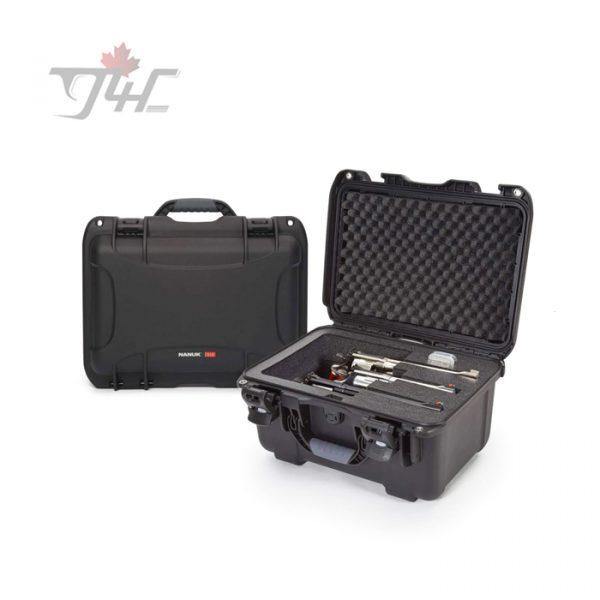 Nanuk Case with Foam Insert for 3 Revolvers - Black