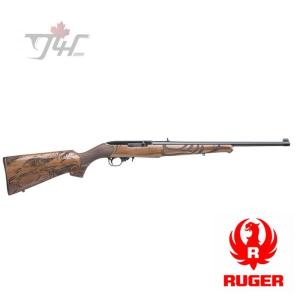 """Ruger 10/22 Sporter Engraved American Eagle .22LR 18.5"""" BRL"""