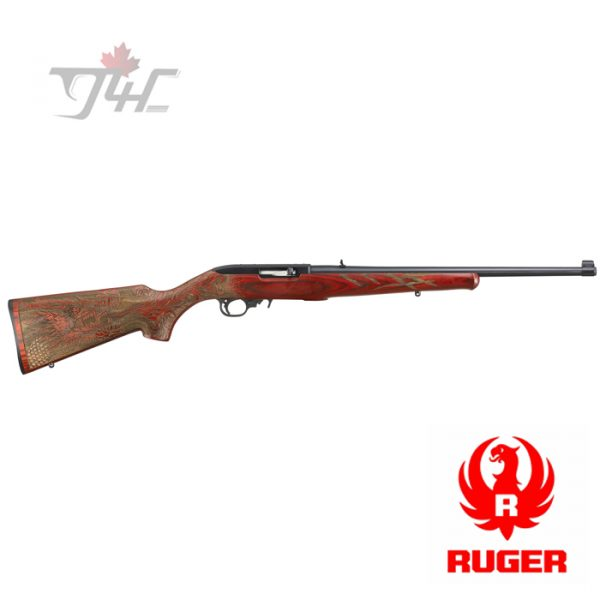 Ruger 10/22 Sporter Engraved Red Dragon