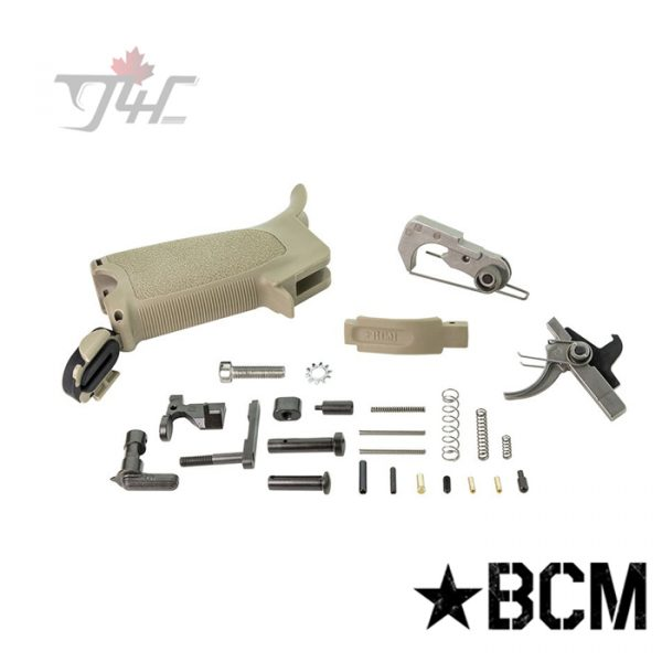 BCM Gunfighter AR-15 Enhanced Lower Parts Kit FDE