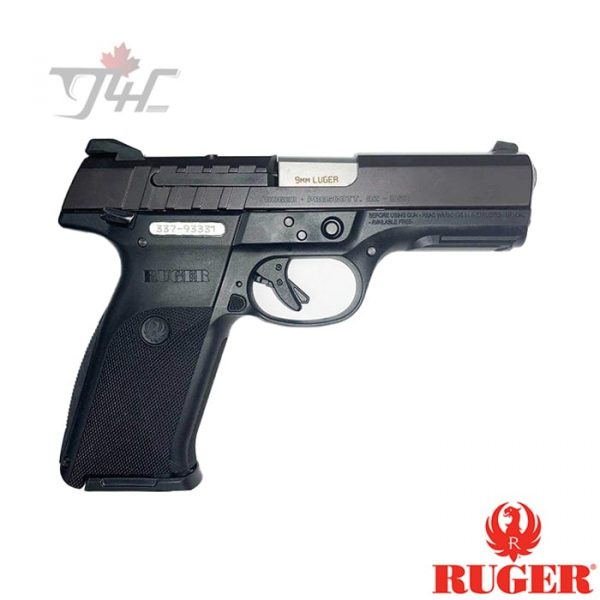 "Ruger SR9 9mm 4.25"" BRL Black"