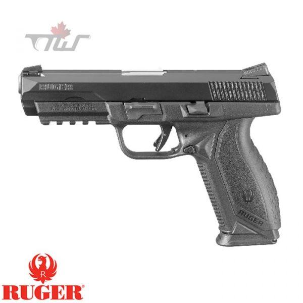 "Ruger American Pistol Duty .45ACP 4.50"" BRL Black"