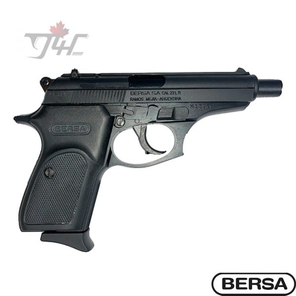 "Bersa Thunder .22LR 4.1"" BRL Black"