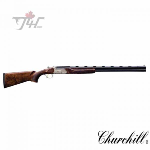 "Churchill 206 Over/Under Shotgun 12Gauge 28"" Gold Engrave"