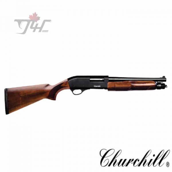 Churchill-Pump-12Gauge-12-inch-BRL-Wood