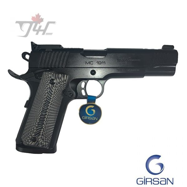 "Girsan MC 1911 Match Elite .45ACP 5"" BRL Black"