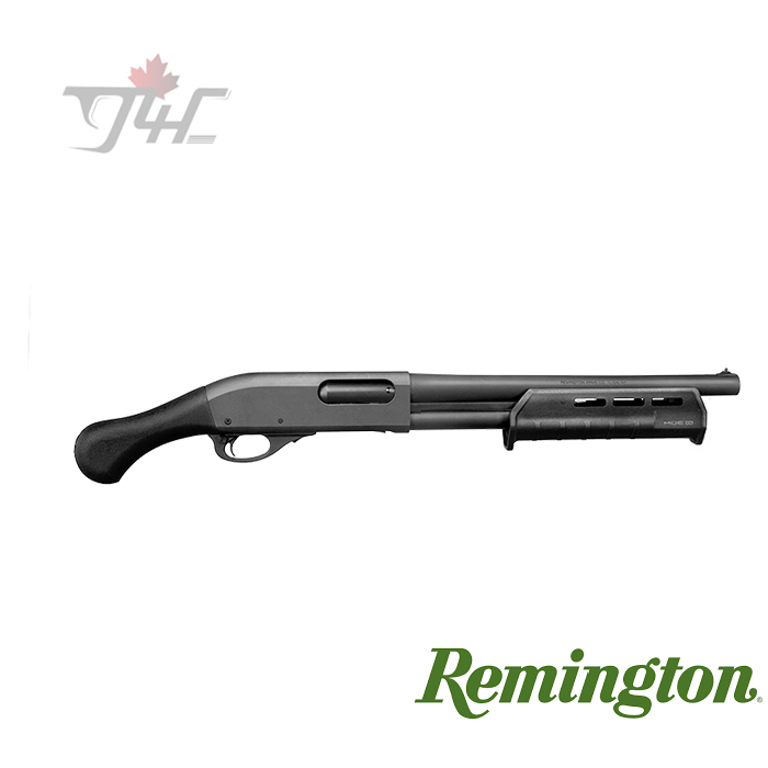 "Remington 870 TAC-14 12Gauge 14"" BRL Blued/Black Oxide Synthetic"