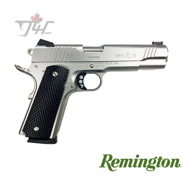 "Remington 1911 R1 Enhanced Stainless .45ACP 5"" BRL"