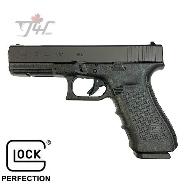 """Glock 17C Gen4 9mm 4.5"""" BRL Black"""