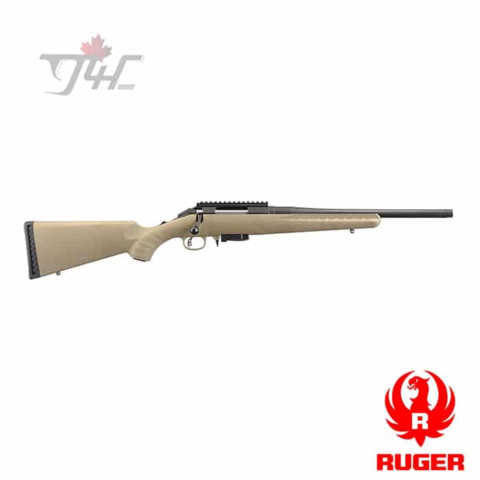 "Ruger American Ranch Rifle 7.62x39mm 16.12"" BRL FDE"