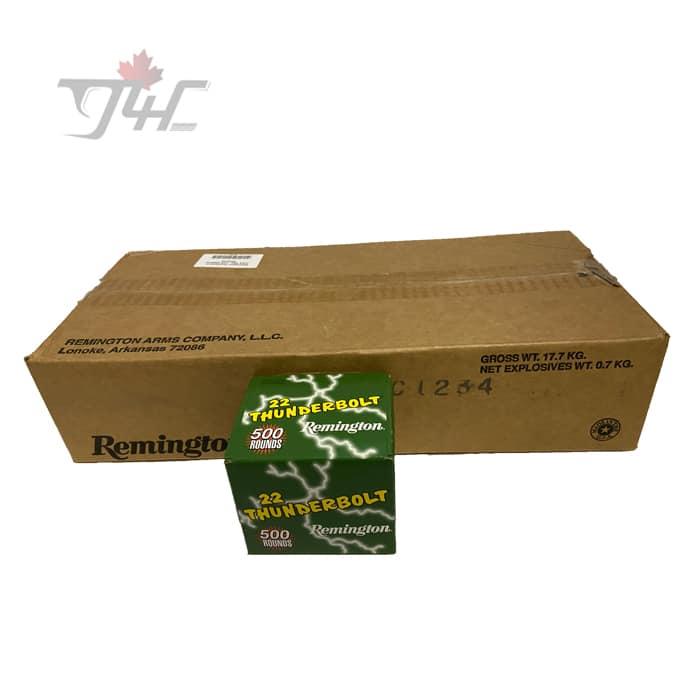 Remington Thunderbolt .22LR 40gr. LRN 5000rds